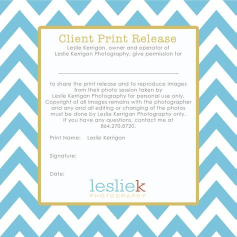 print release wording - cdinsertback Business at home - photography copyright release form