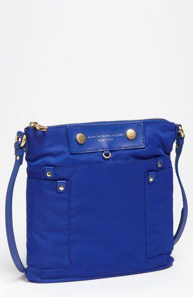 e71f73ba80c4 Marc By Marc Jacobs Preppy Nylon Sia Crossbody Bag in Blue (meteorite blue)