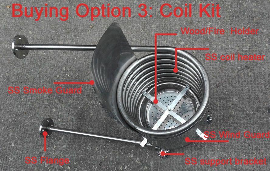 Heater Coil Kit Accessories 1 Healthy Chauffe Eau