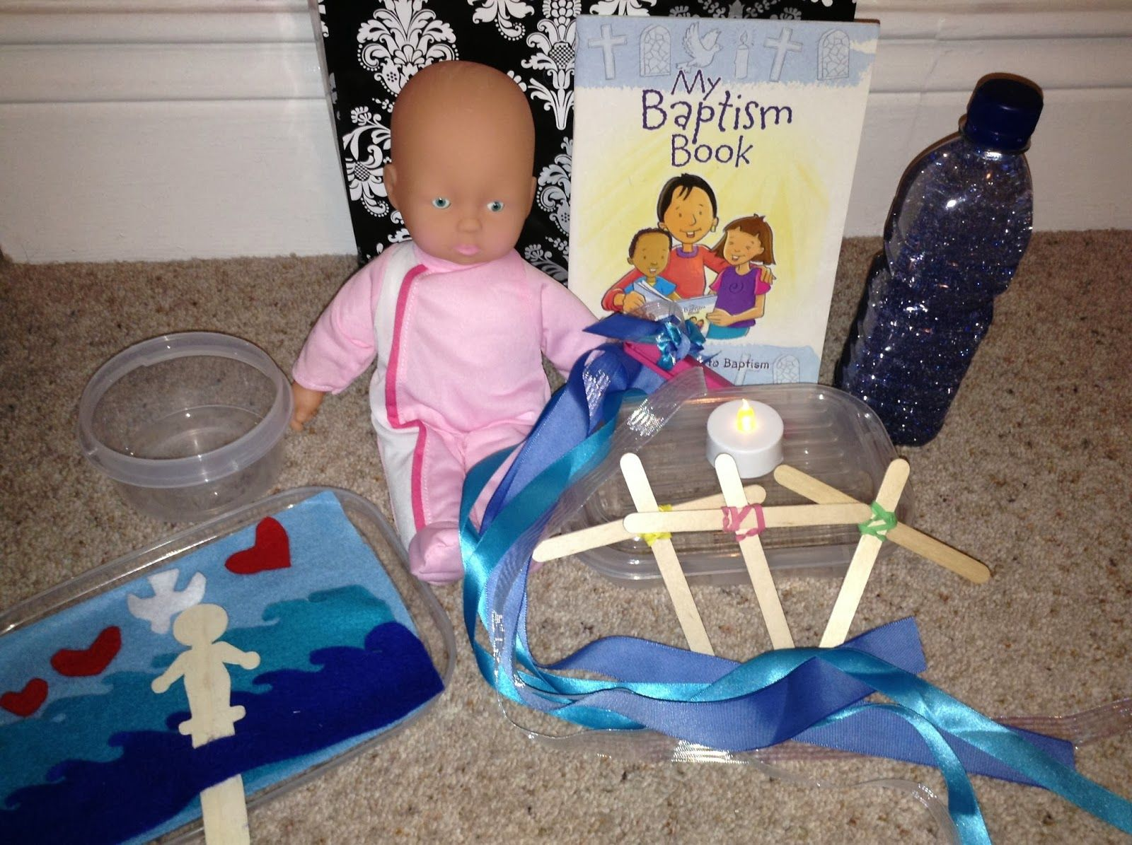 Flame Creative Children S Ministry Baptism Story Bag
