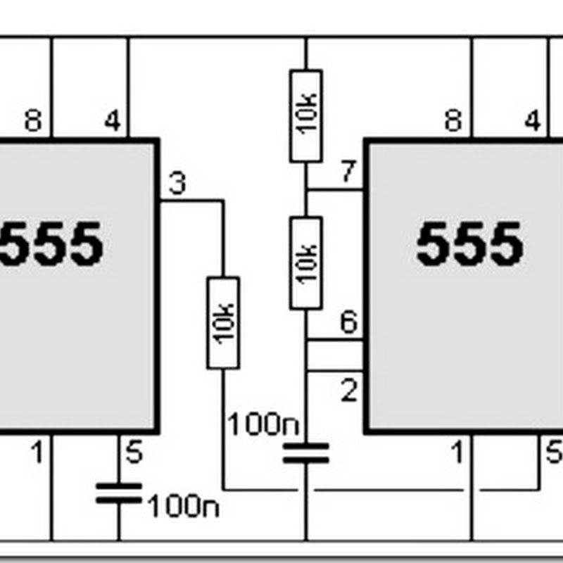555 timer circuit diagram police siren simple schematic collection rh pinterest com