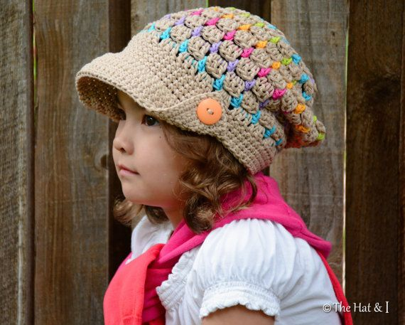 CROCHET PATTERN Summer Slouchy a slouchy hat with by TheHatandI-Need ...