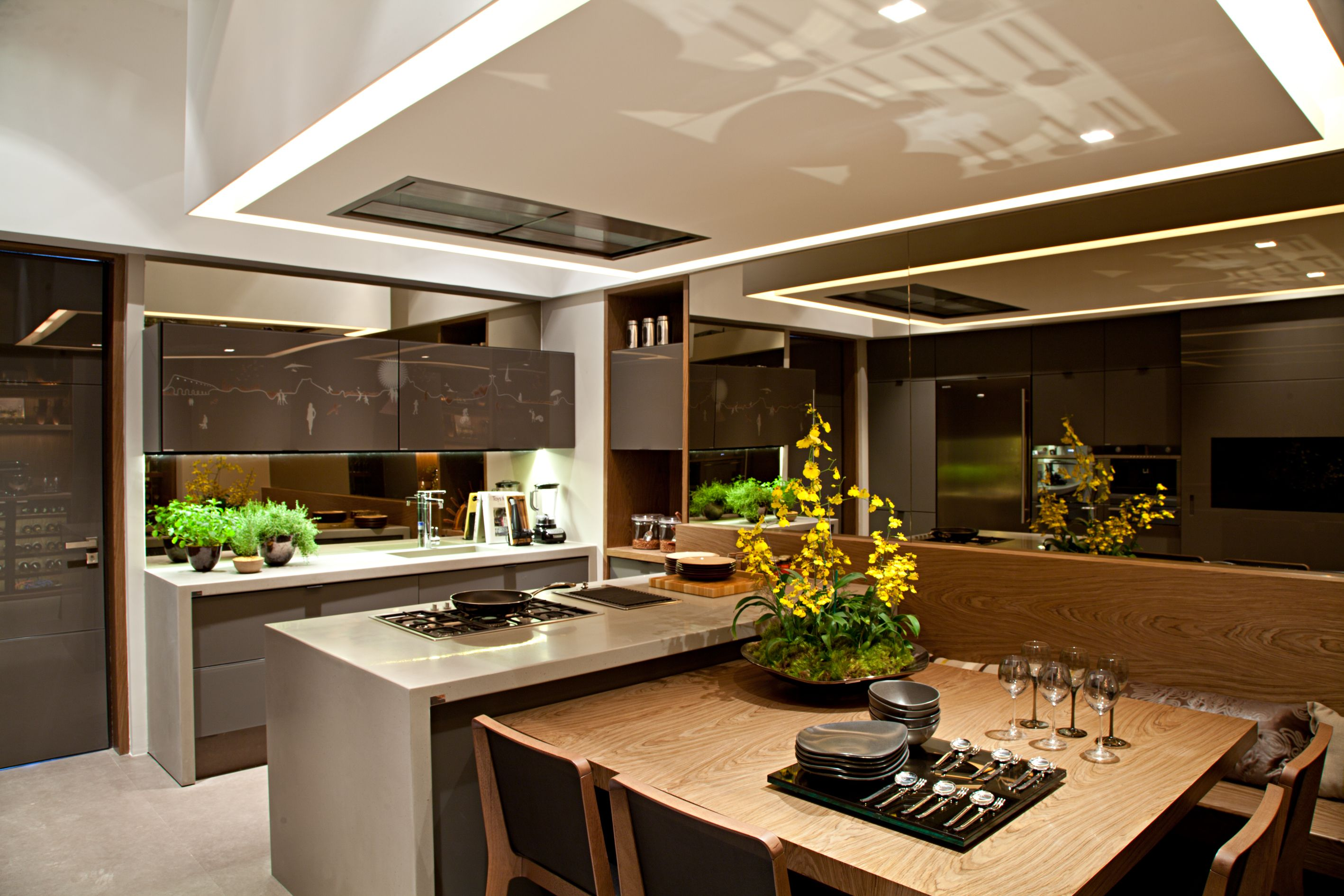 Innenarchitektur für küchenschrank cozinhas bonitas  pesquisa google  ceiling  pinterest