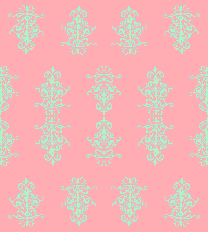Mint And Coral Chevron Background navy coral & mint ...