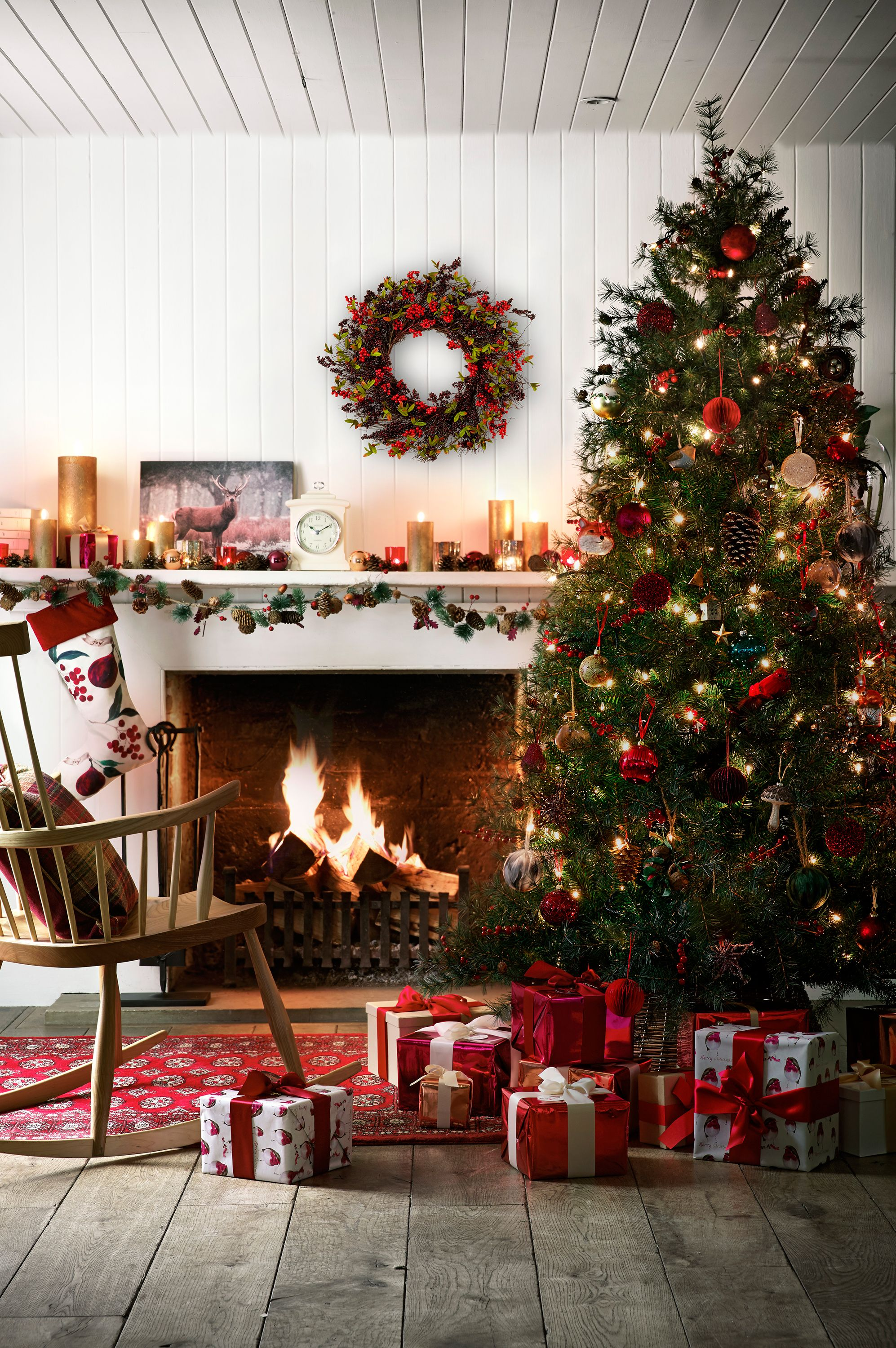 How to decorate your home for christmas - Decorate Your Home This Christmas With John Lewis And Add Some Sparkle To Your Tree