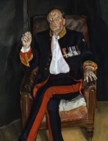lucian freud portrait of Andrew Cavendish
