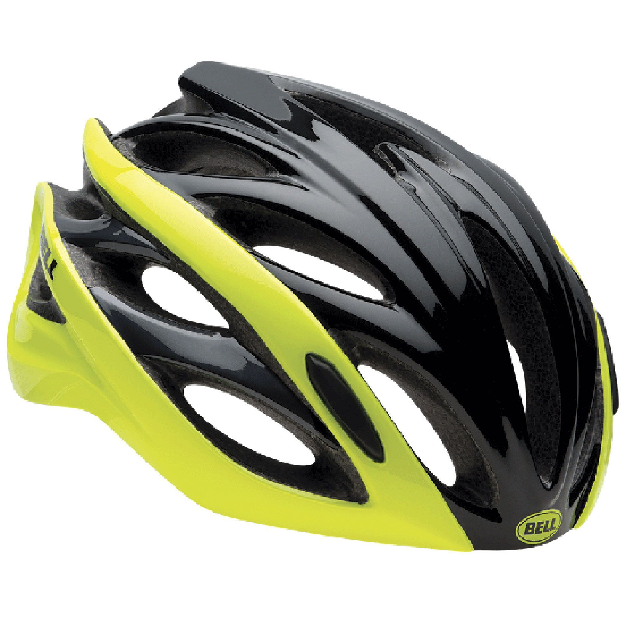 Bell Overdrive bicicleta bicicleta casco negro 2017