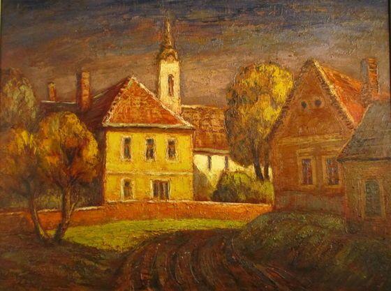 Réti Mátyás: Tapolcai részlet - Pintér Aukciósház