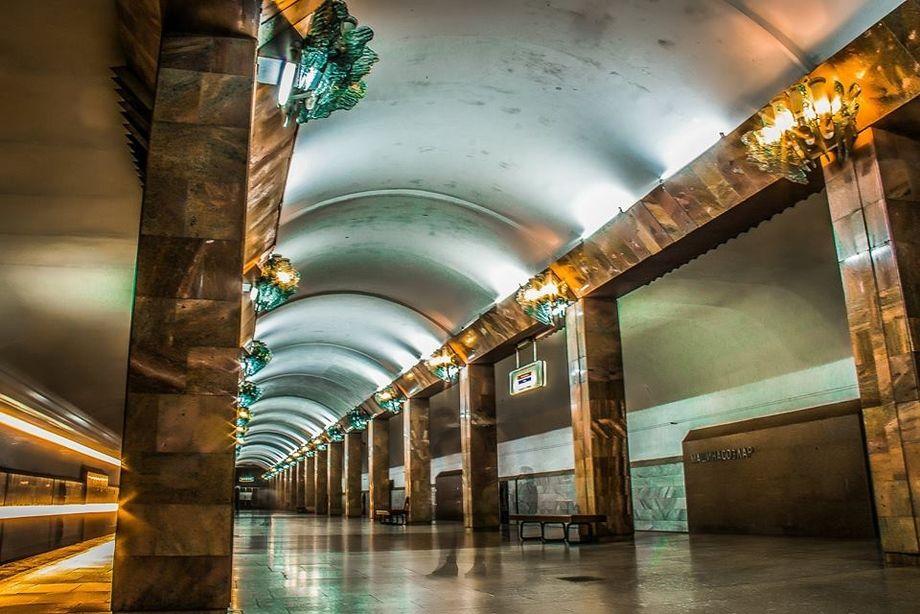 Сенсационная фотосессия ташкентского метрополитена. Фото №18