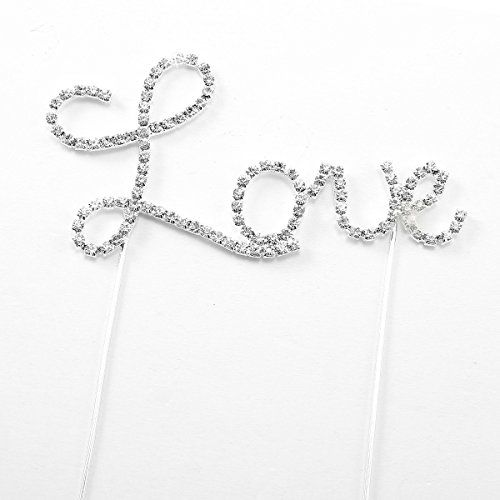 Letter Love-Pattern Cake Topper Decoration for Wedding/Engagement/Birthday Party Unbekannt http://www.amazon.co.uk/dp/B00IRXR6IQ/ref=cm_sw_r_pi_dp_XroLwb0WJWMKT