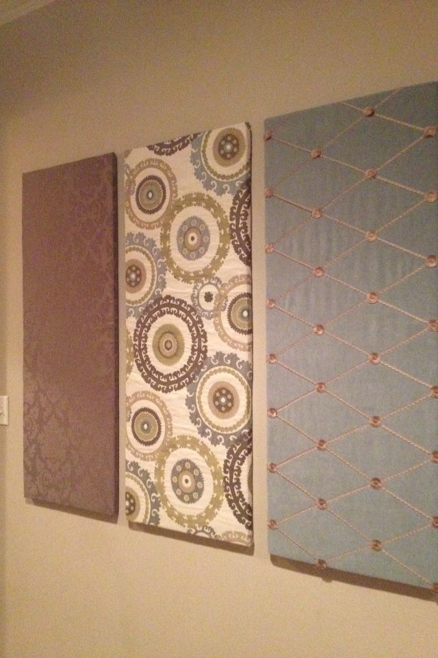 Fabric Wall Panels Fabric Wall Panels Home Craft Decor Fabric Wall