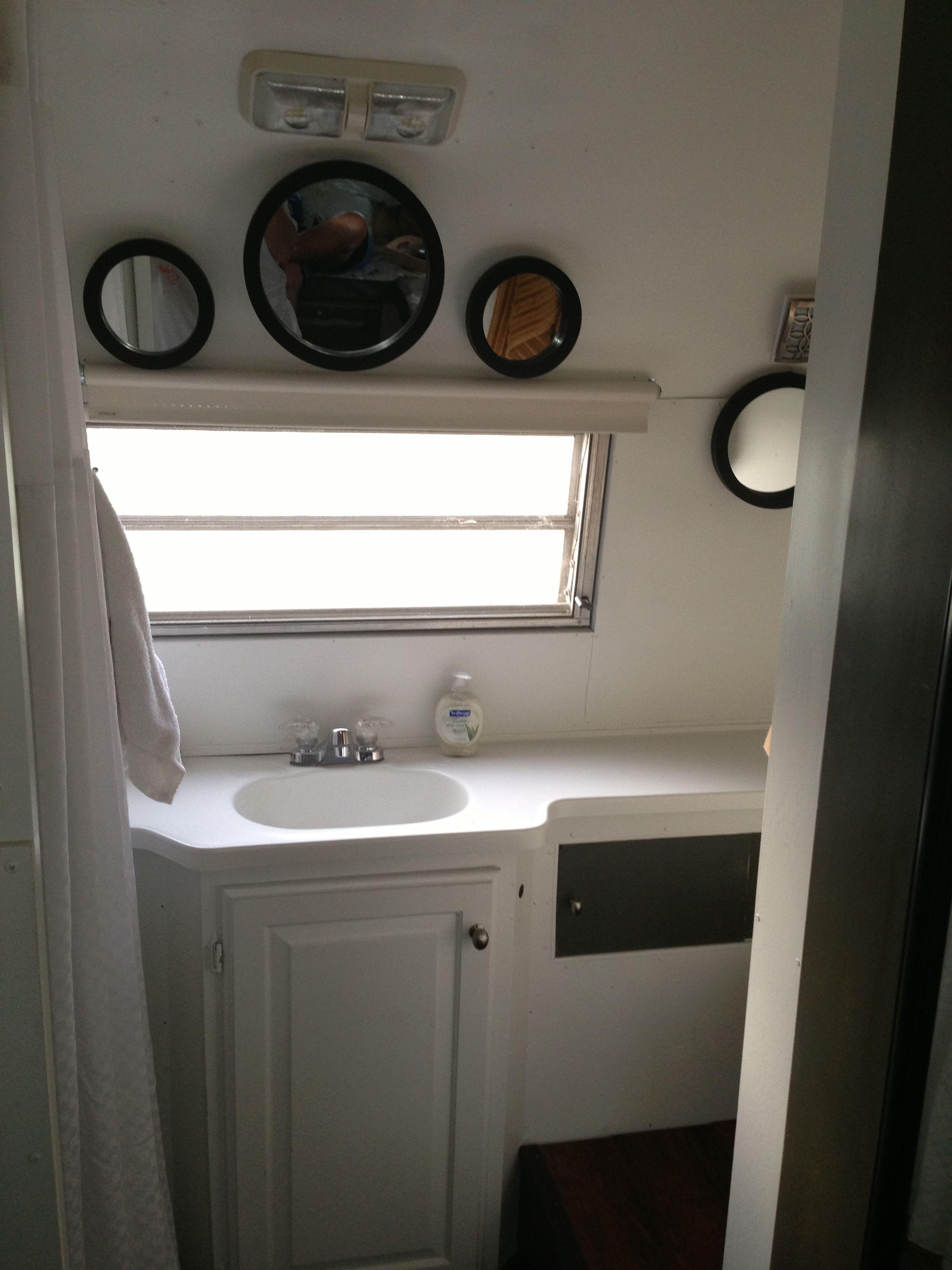 Bathroom Vanity Area In Our 69 Streamline Prince