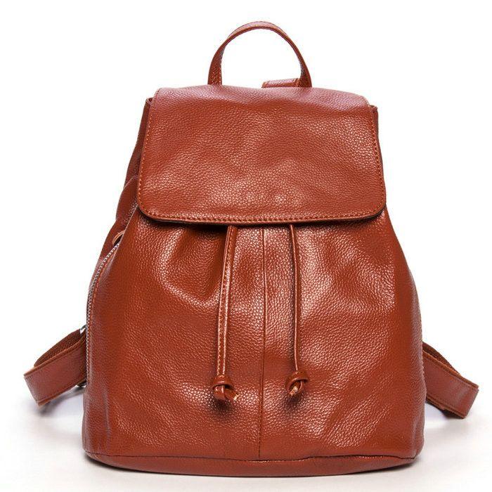 674cadf97 Mejor estilo universitario mochilas para mujeres mochila de viaje de piel  [AS90016] - €72.84 : bzbolsos.com, comprar bolsos online