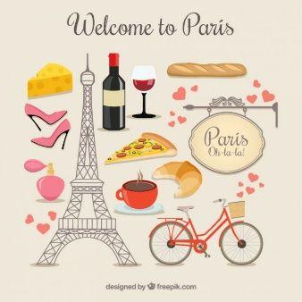 Elementos de bienvenido a París