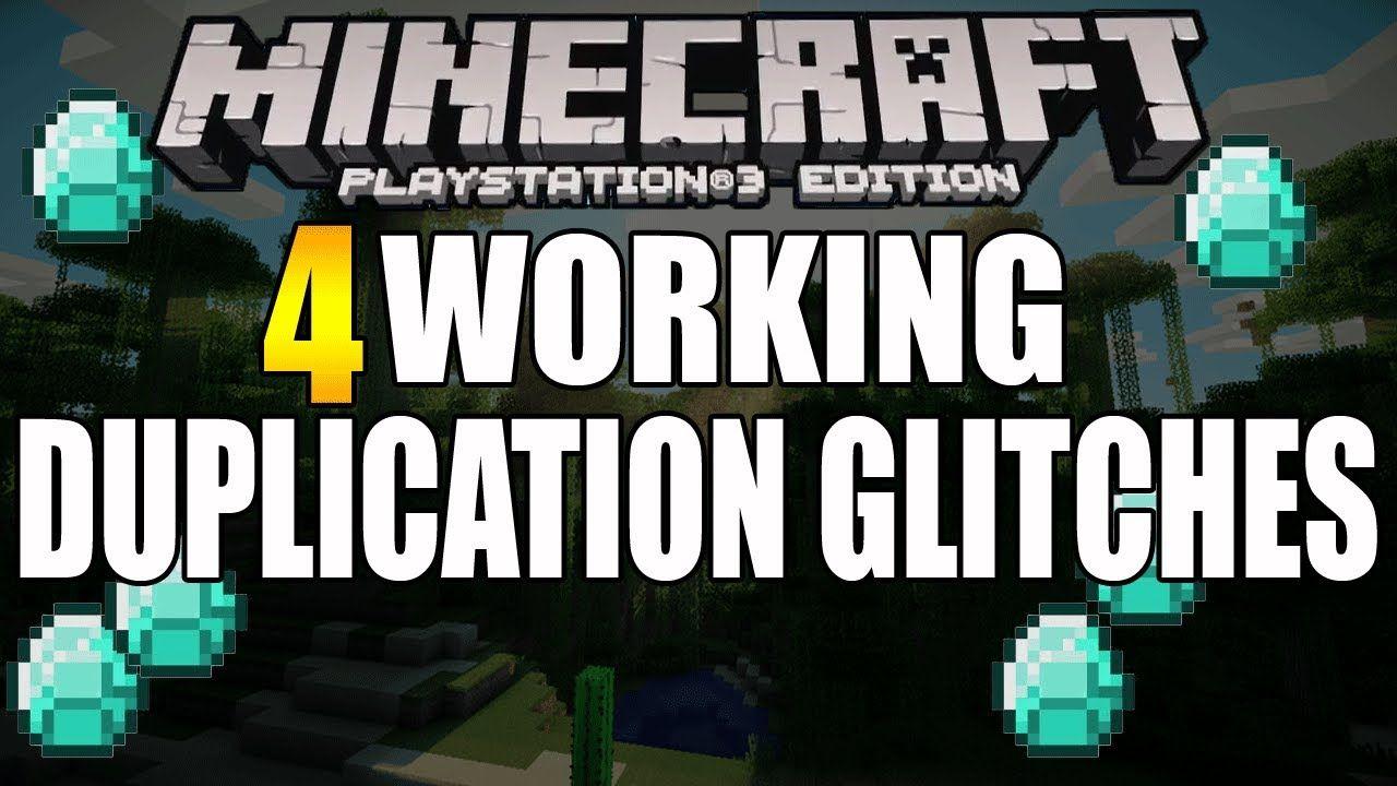 minecraft duplication glitch xbox one 2018