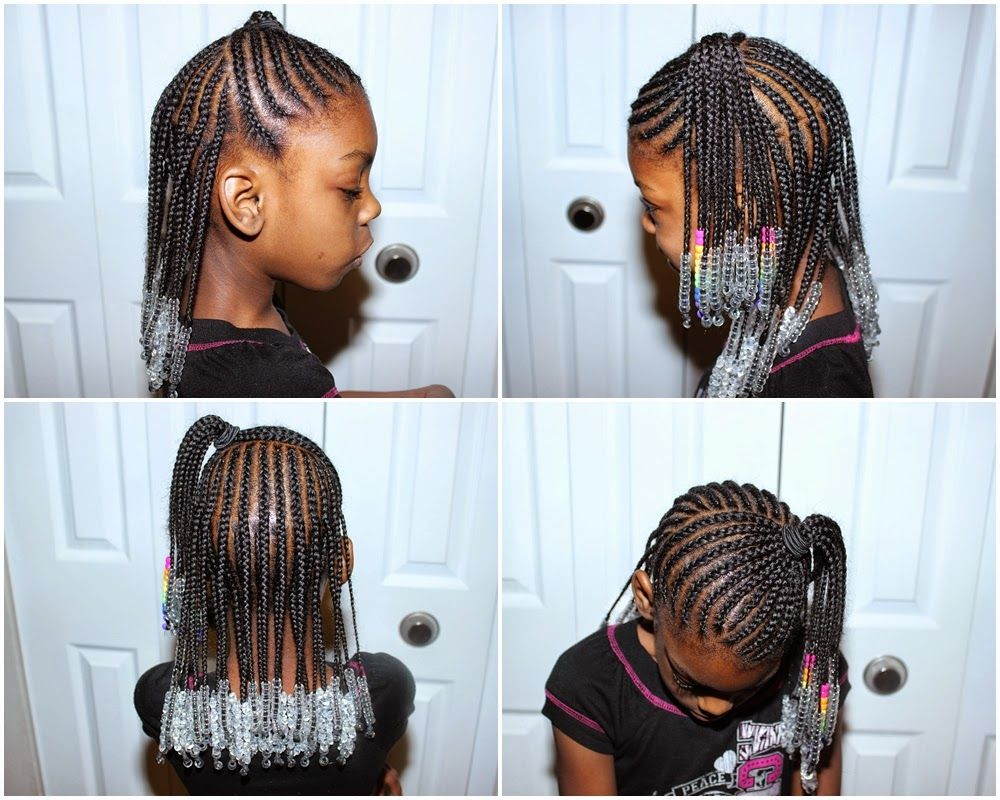 Birth Of A Fashion Blogger Hairstyles For Kidz Half Up Half Down Braids With Beads Hair Styles Kids Hairstyles Braids With Beads