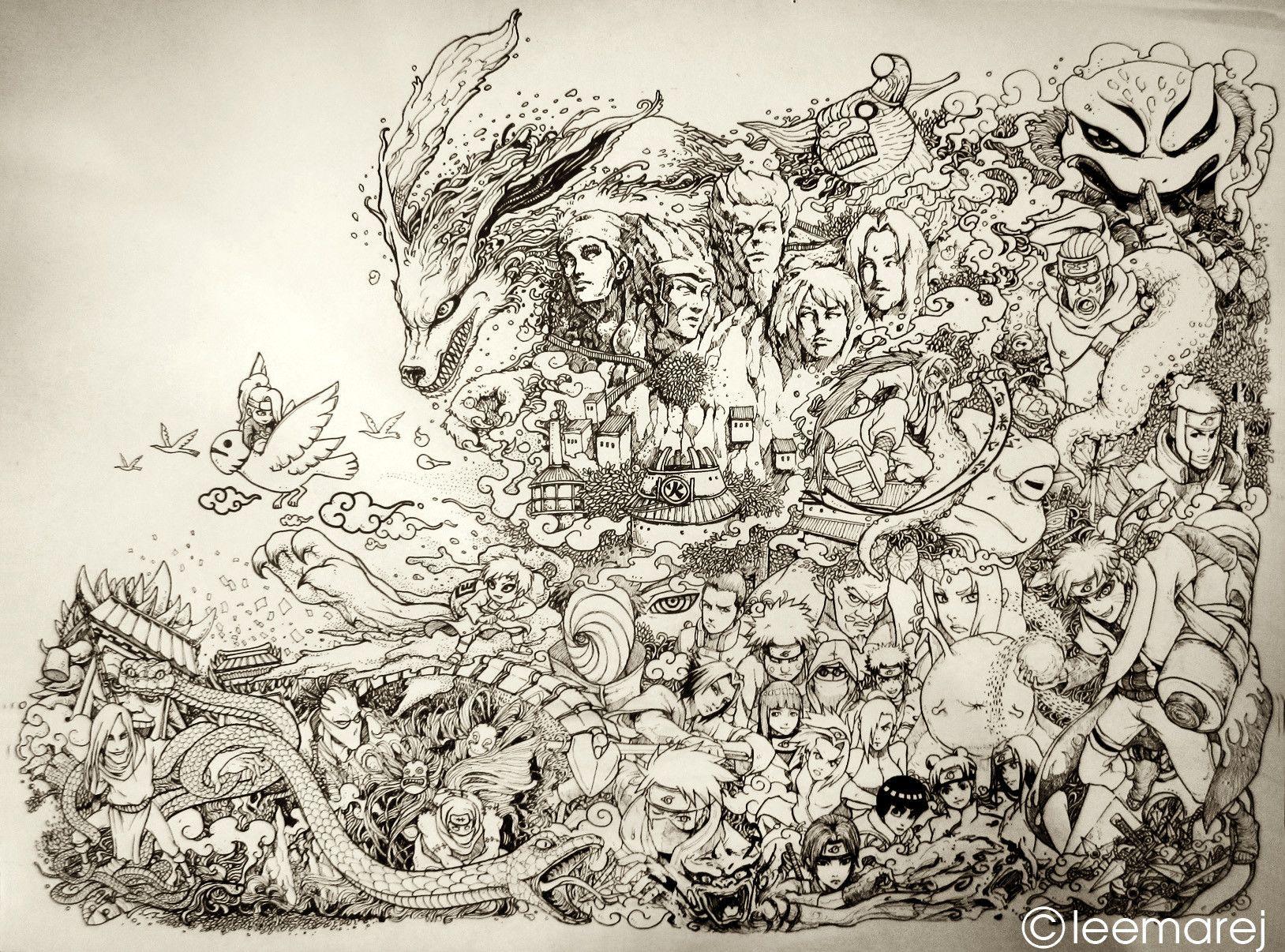 Naruto doodle