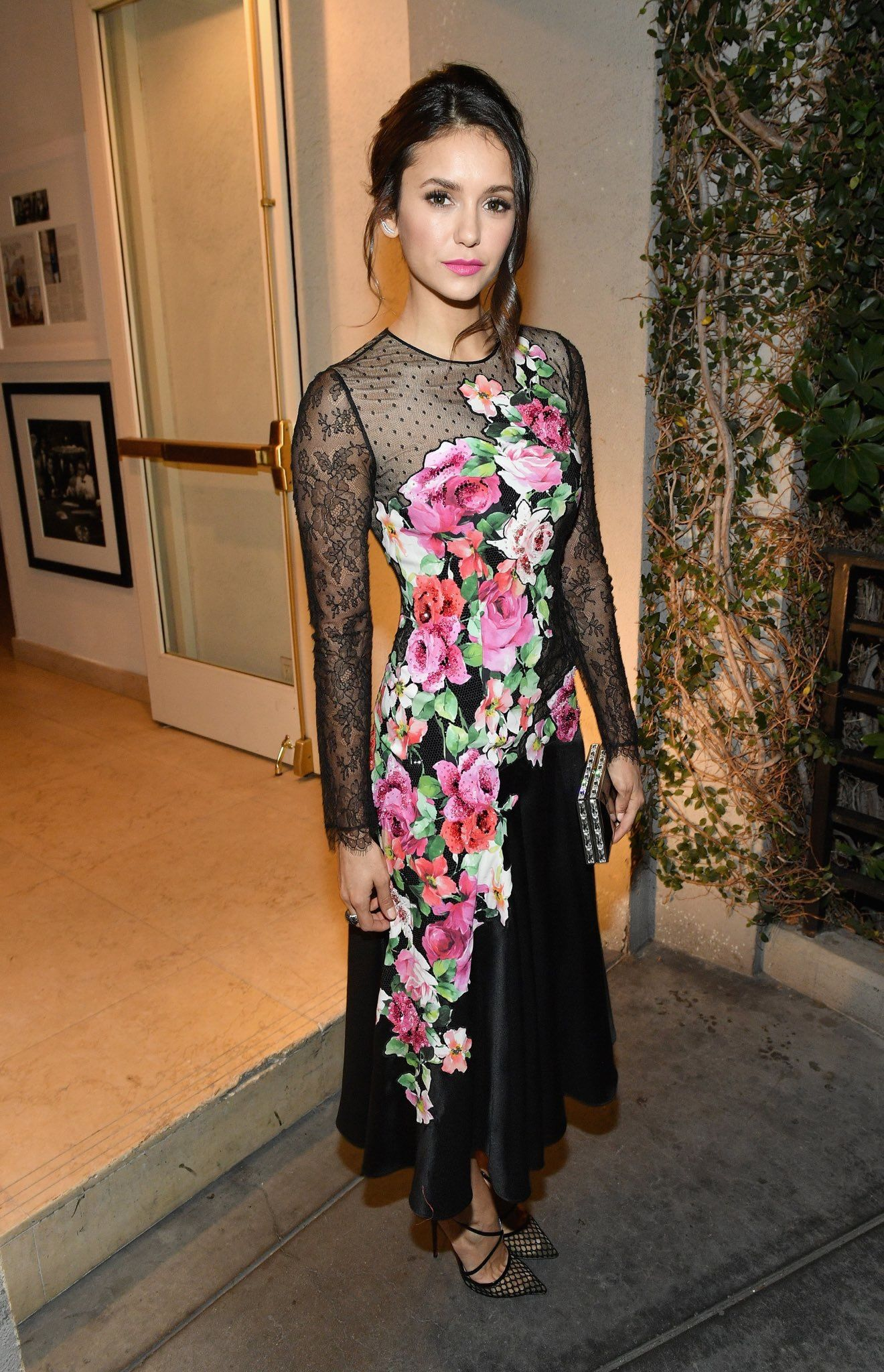 Nina Dobrev attends a special event hosted by Paramount Pictures' Brad Grey