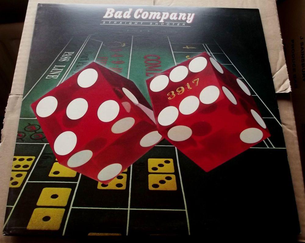 Bad Company Straight Shooter 1975 Island Ilps 9304 A 1 B 1