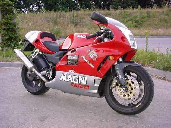 Arturo Magni Moto Guzzi.