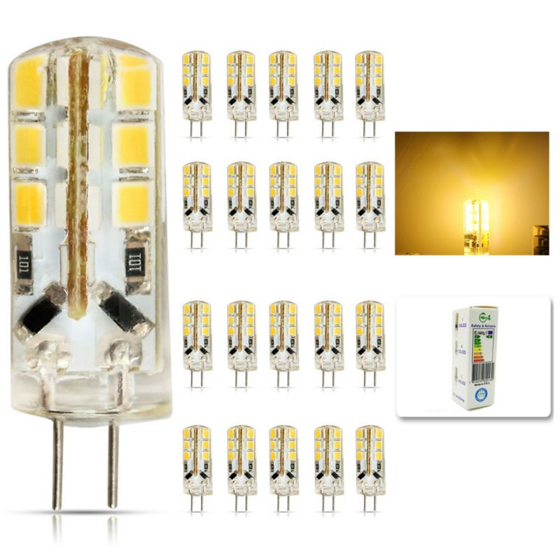 20pcs Lot Led G4 2835 Smd 6w Dc 12v G4 24led Lamp Halogen Lamp G4 Led 12v Led Bulb Lamps Warranty 2y Lighting Spotlight Affiliate Led Bulb Halogen Lamp G4 Led