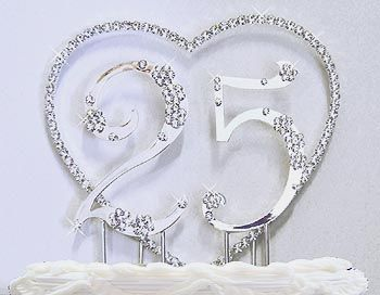 Silver Wedding Anniversary Decorations Find this Pin and more on