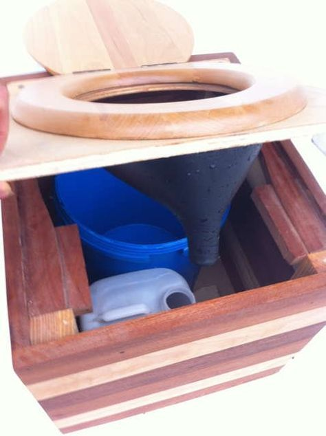 Urine separator for composting toilet hunting and deer - Camping toilette fur gartenhaus ...