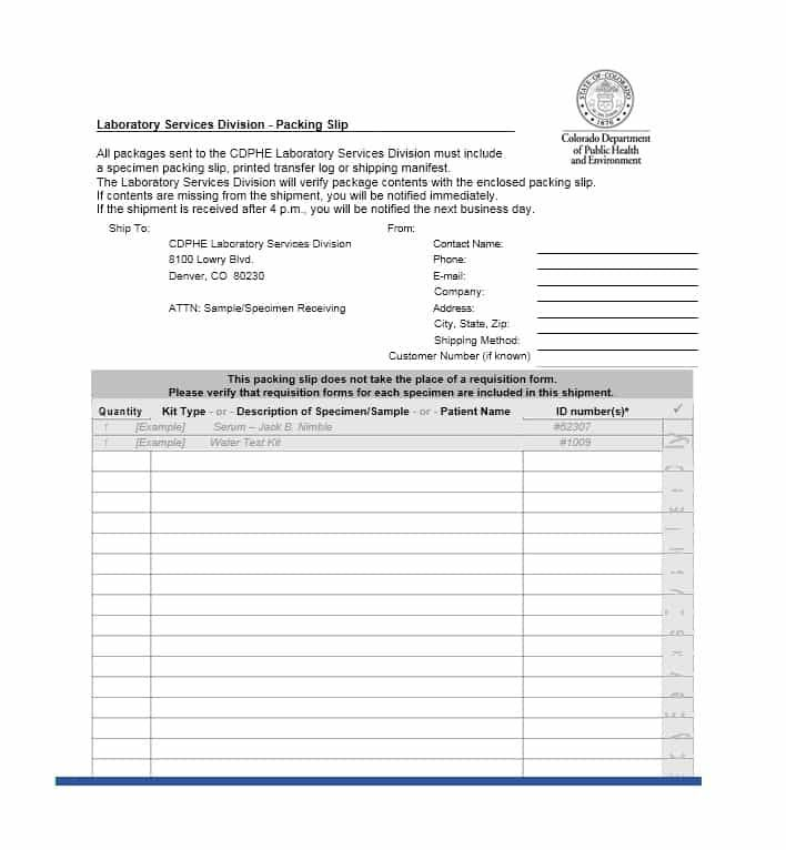 Packing Slip Templates  Word Excel  Pdf Templates  Www