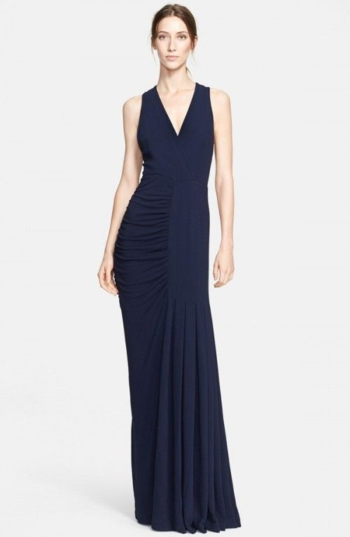 Yigal Azrou L Sleeveless Gown Dress Frock And Clothing Black