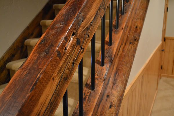 Best Custom Wood Products Photo Gallery Rustic Stairs Wood 640 x 480