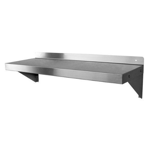 Stainless Steel Wall Mount Shelf 14 X 60 By Gsw 126 10 More