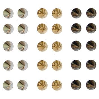 Set of 15 Pairs of Spike Stud Earrings, 8mm Usually $2.99 now only $1.50. Sale ENDS Sunday 8/3/14 !