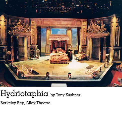Hydriotaphia. Berkeley Rep, Alley Theatre. Scenic design by Jeff Cowie.