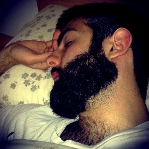 Fetish man sleeping