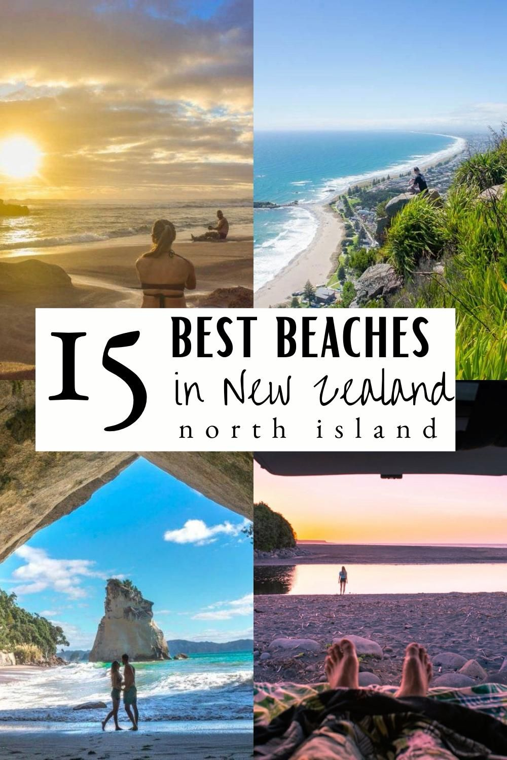 The absolute best beaches in New Zealand, north island! You are going to love this list of GORGEOUS beaches! new zealand travel / new zealand beautiful places / new zealand north island / new zeland photography