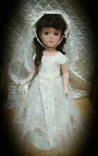 1940s 21 inch Original Madame Alexander Margaret Bride doll #bridedolls