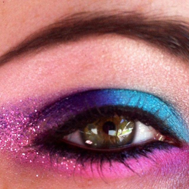 #cottoncandy #fairykei #eyemakeup #makeup #beauty #colors #eyes glitter #magic #blue #purple #pink #glam #glamour