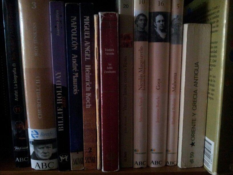 Bibliografias en mi salón