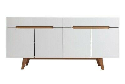 Design Sideboard Linsell Ii Weiss Eiche Holz Kommode Schrank Skandinavisch Modern Ebay In 2020 Eiche Holz Weisse Eiche Sideboard