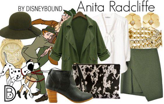 Disney Bound - Anita Radcliffe