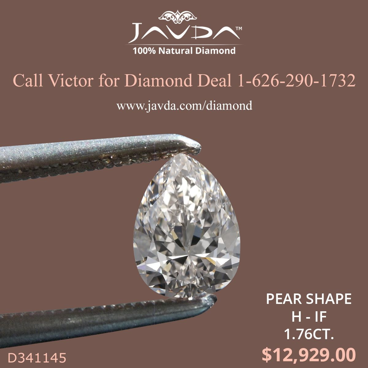 Pear Shape Diamond Certified By Gia 100 Natural H Color If Clarity 1 76 Ct Total Weight Diamond Pear Shaped Diamond Natural Diamonds