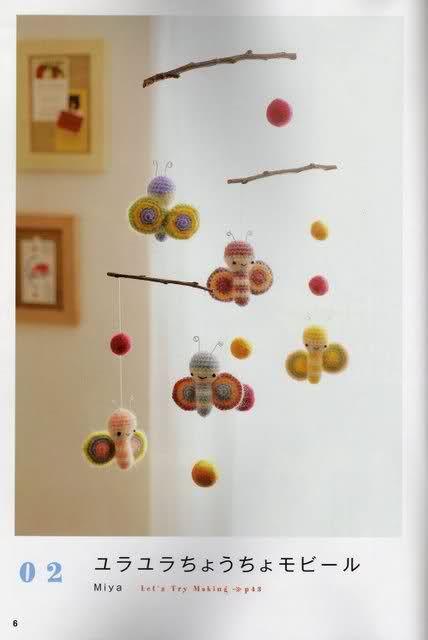 Movil a crochet | sonajeros y moviles | Pinterest | Patrones ...
