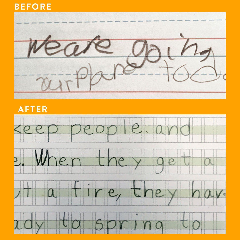 Homeschool 250 Sheets Per Pack Handwriting Helper For Pre