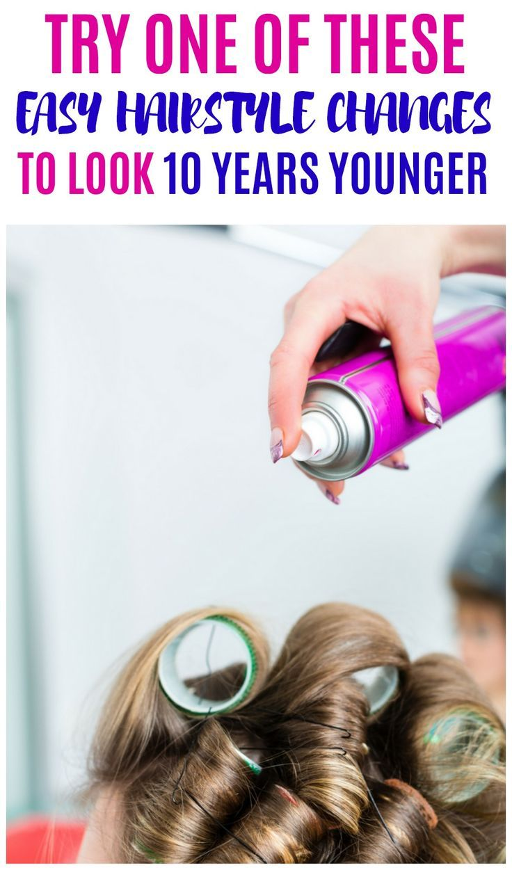 Easy hairstyle changes that can help you look younger hair style