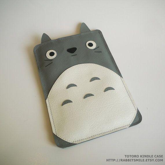 Totoro Kindle 4 case/ Kindle Touch case / Original Kindle case/ Kindle Touch cover / Kindle Sleeve  need.