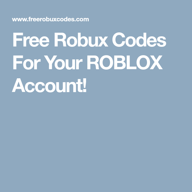 Free Robux Codes For Your ROBLOX Account! | Bruskey Lee