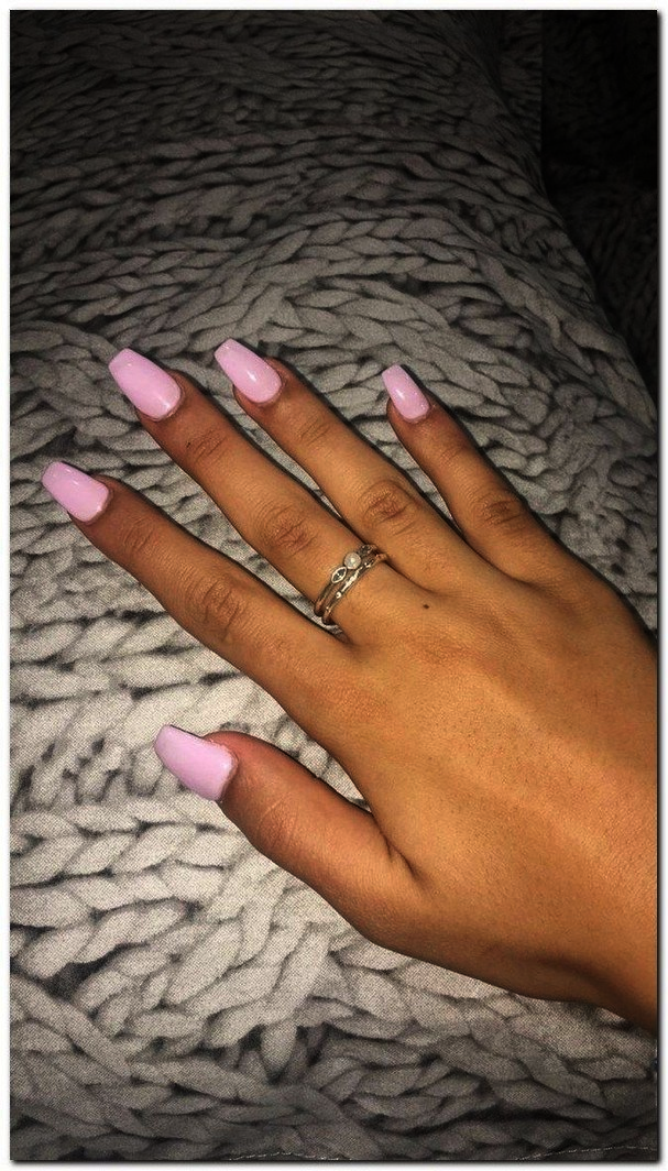 Home Blend Of Bites Lilac Nails Acrylic Nails Coffin Short Acrylic Nails