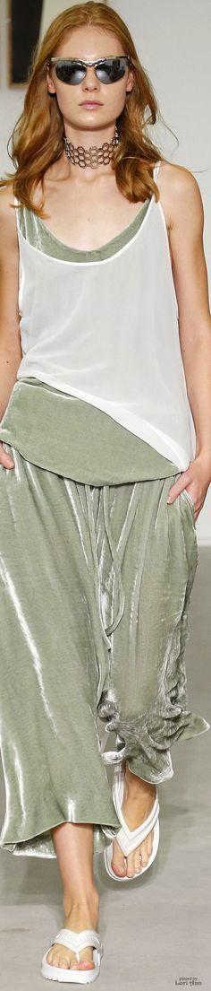Vitorino Campos Spring 2017  @roressclothes closet ideas #women fashion outfit #clothing style apparel