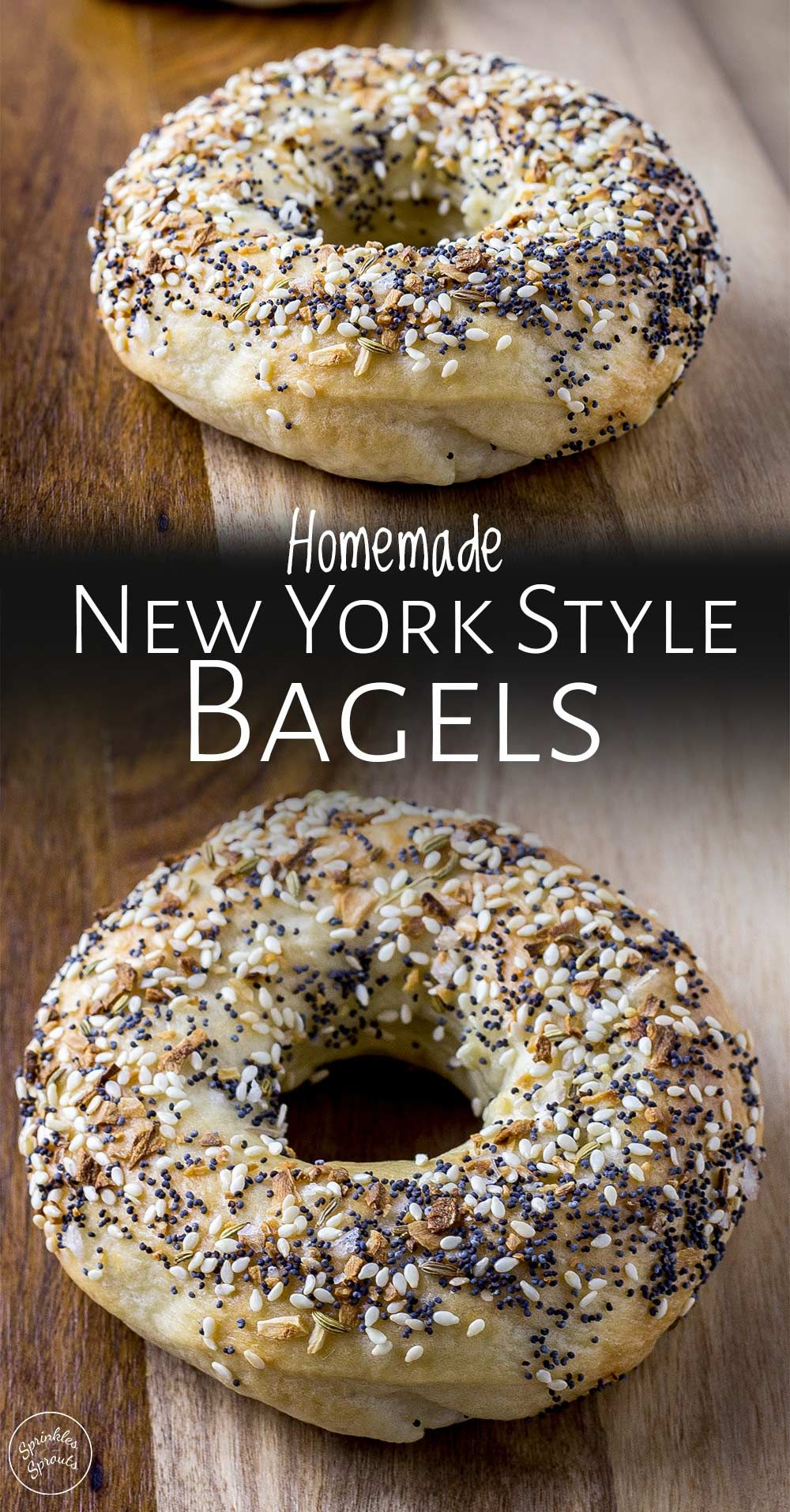 Perfect New York Style Bagel Recipe | Sprinkles and Sprouts