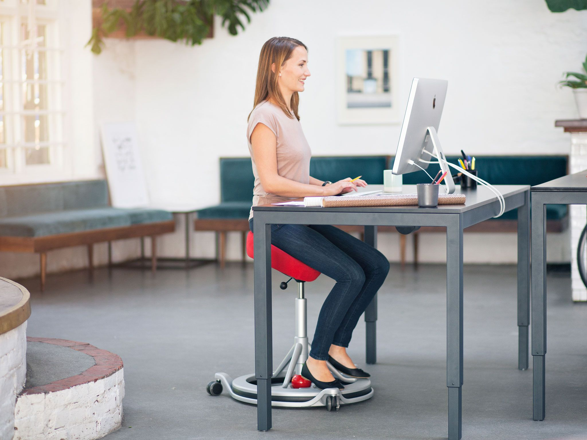 10 Best Desk Exercise Equipment Desk Best Desk Sit Stand Desk